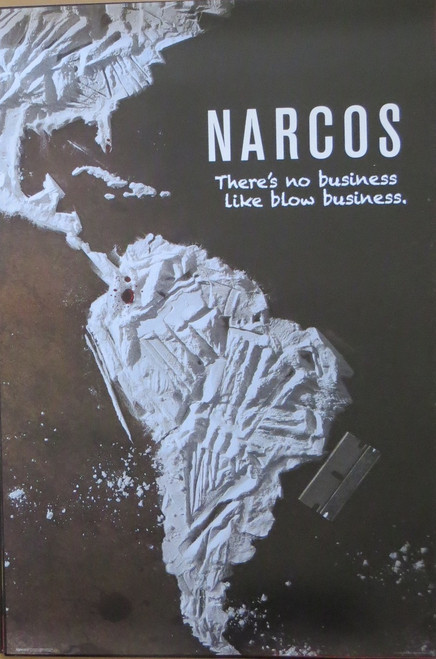 Narcos – Blow Business- Poster-Laminated available-91cm x 61cm-Brand New