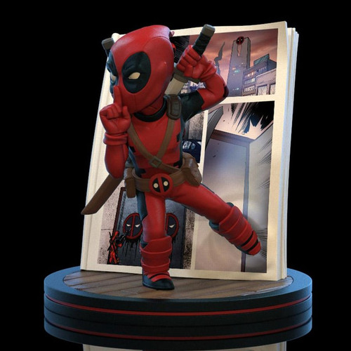 Deadpool - Deadpool 4D Q-Fig Diorama-QMXMVL-0042-QUANTUM MECHANIX