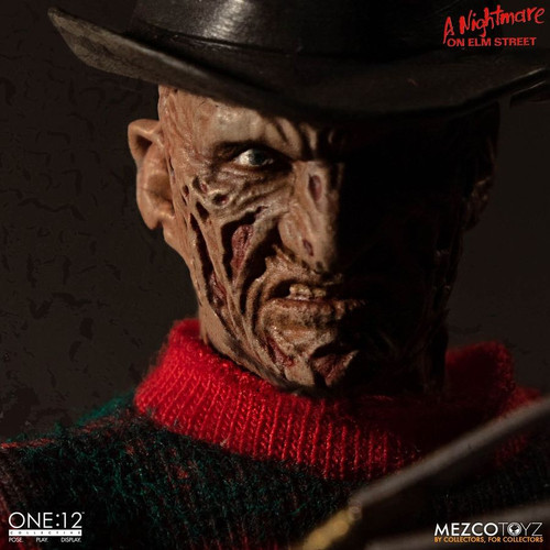 A Nightmare on Elm Street - Freddy Krueger One:12 Collective Action Figure-MEZ77390-MEZCO TOYZ