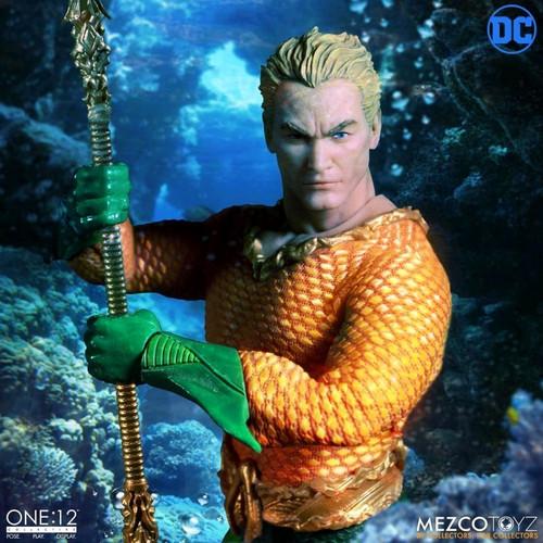 Aquaman - Aquaman One:12 Collective Action Figure-MEZ77440-MEZCO TOYZ