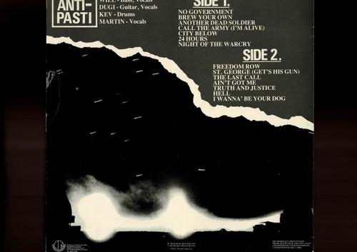 Anti-Pasti-The Last Call-VINYL LP-USED-UK Original press
