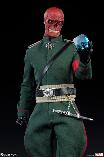 "Captain America - Red Skull 1:6 Scale 12"" Action Figure-SID100175-SIDESHOW COLLECTIBLES"