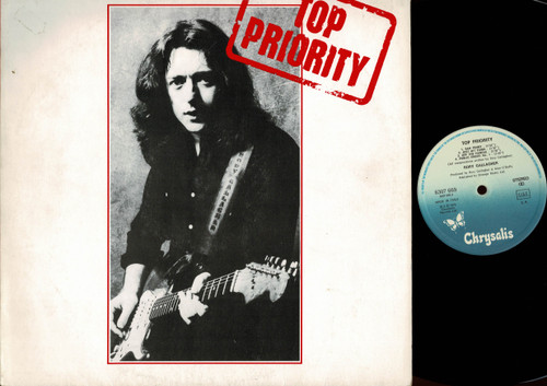 Rory Gallagher - Top Priority - Vinyl-USED LP-German Issue