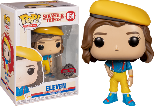 Stranger Things - Eleven in Yellow Outfit US Exclusive Pop! Vinyl [RS]-FUN38540-FUNKO