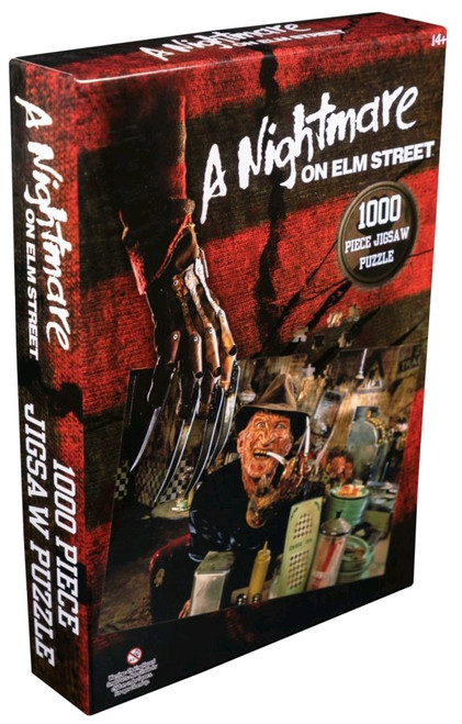A Nightmare on Elm Street - Freddy Krueger at the Diner 1000 piece Jigsaw Puzzle-IKO1706-IKON COLLECTABLES