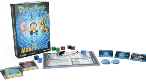 Rick and Morty - The Morty Zone Dice Game-CRY28296-CRYPTOZOIC