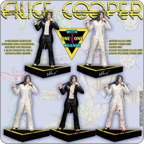 Alice Cooper - Welcome to My Nightmare (with 1-1 chase) Limited Edition Statue-IKO1170-IKON COLLECTABLES