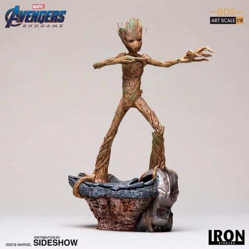 Avengers 4: Endgame - Groot 1:10 Scale Statue-IRO99608-IRON STUDIOS