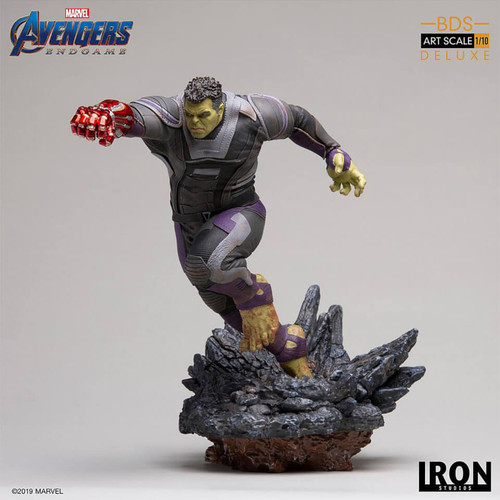 Avengers 4: Endgame - Hulk Deluxe 1:10 Scale Statue-IRO99714-IRON STUDIOS