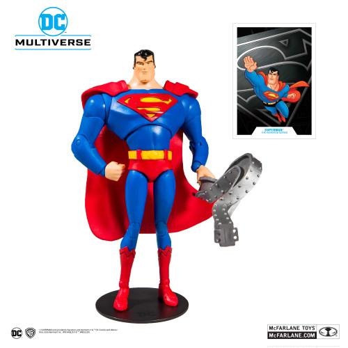 "Superman: The Animated Series - Superman 7"" Action Figure-MCF15502-MCFARLANE TOYS"