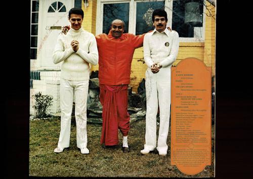 Carlos Santana & John McLaughlin-Love Devotion Surrender-VINYL LP-USED-Orig. Aussie press