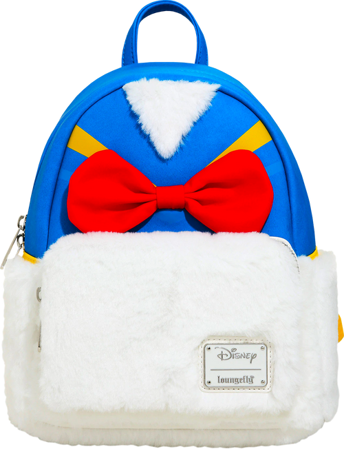 Mickey Mouse - Donald Duck Body Backpack-LOUWDBK1089-LOUNGEFLY