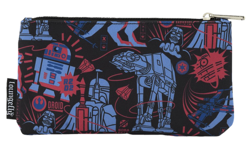 Star Wars - Empire Strikes Back 40th Anniversary Pouch-LOUSTCB0124-LOUNGEFLY