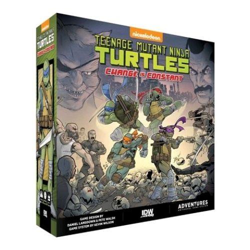 Teenage Mutant Ninja Turtles - Change is Constant Board Game-IDW01680-IDW GAMES