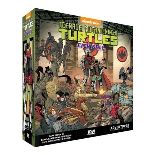 Teenage Mutant Ninja Turtles - City Fall Board Game-IDW01682-IDW GAMES