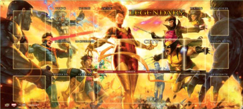 Marvel Legendary - Dark Phoenix vs X-Men Playmat-UPP93433-UPPER DECK