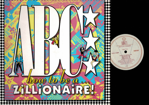 ABC-How To Be A Zillionaire!-VINYL LP-USED-Canada press