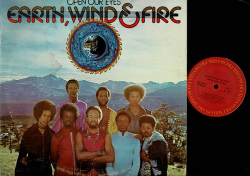 Earth, Wind & Fire-Open Our Eyes-VINYL LP-USED-Canada press