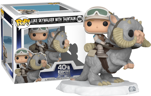 Star Wars - Luke on Tauntaun Pop! Vinyl Dlx-FUN46764-FUNKO