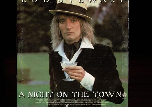 Rod Stewart-A Night On The Town-VINYL LP-USED-Aussie press