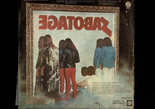 Black Sabbath-Sabotage-VINYL LP-USED-Argentina press