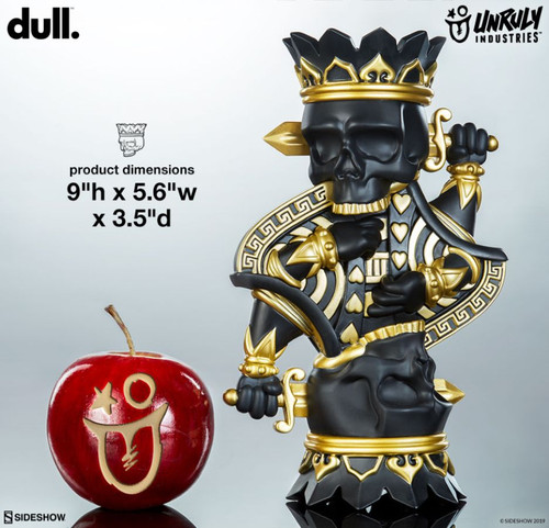 Dull - King Charles Designer Toy-UNR700112-UNRULY INDUSTRIES