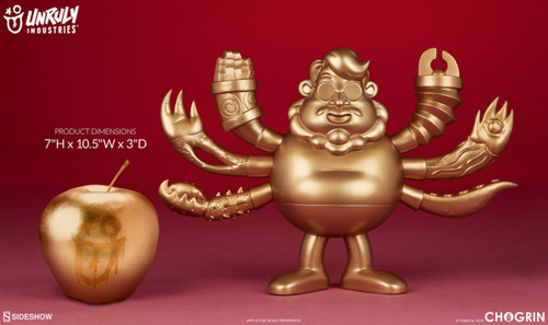 Chogrin - Guru Del Toro Designer Toy-UNR700115-UNRULY INDUSTRIES