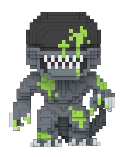 Alien - Alien Bloody 8-Bit US Exclusive Pop! Vinyl-FUN24673