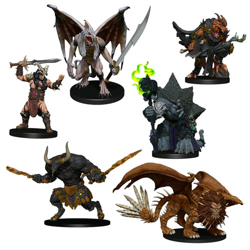 Dungeons & Dragons - Icons of the Realms Descent into Avernus Arkhan the Cruel & the Dark Order-WZK96014-WIZKIDS GAMES