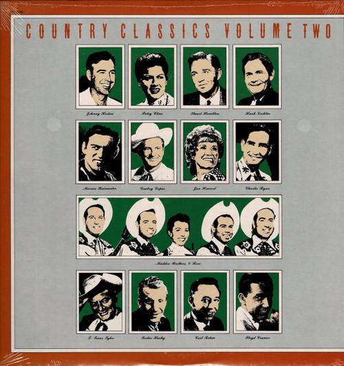 COUNTRY CLASSICS -Patsy Cline/Ferlin Husky/Hank Locklin Vinyl LP-Brand New-Still Sealed