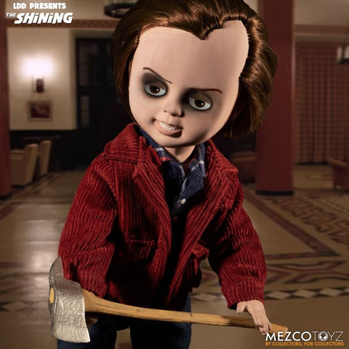 Living Dead Dolls - The Shining Jack Torrance Doll-MEZ99587-MEZCO TOYZ
