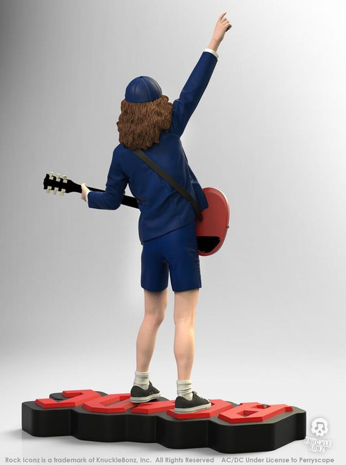 AC/DC - Angus Young II Rock Iconz Statue-KNUANGUS200-KNUCKLEBONZ
