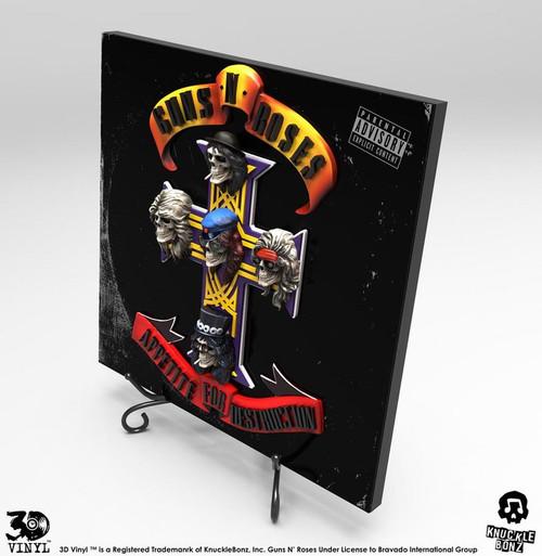 Guns N' Roses - Appetite for Destruction 3D Vinyl-KNU3DVGNR100-KNUCKLEBONZ