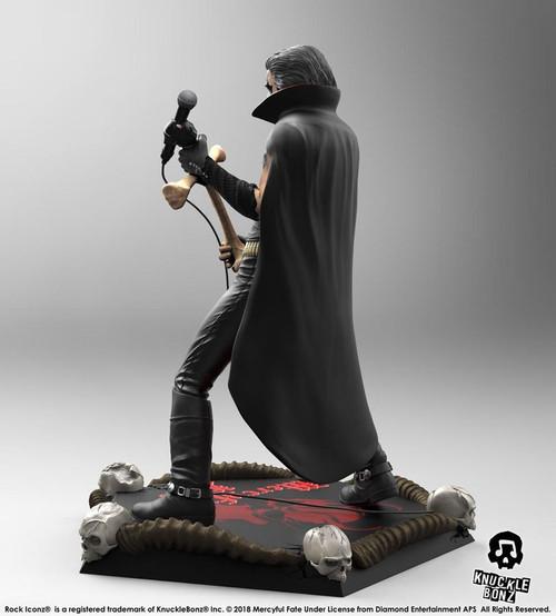 King Diamond - Mercyful Fate Era Rock Iconz Statue-KNUKING200-KNUCKLEBONZ