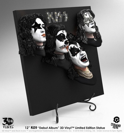 KISS - Debut Album 3D Vinyl-KNU3DVKISS1-KNUCKLEBONZ