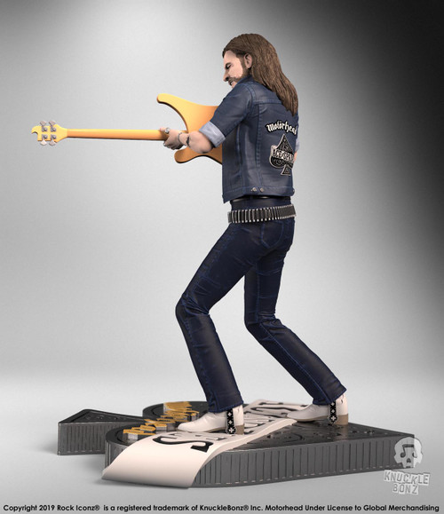 Motorhead - Lemmy III Rock Iconz Statue-KNULEMMY300-KNUCKLEBONZ