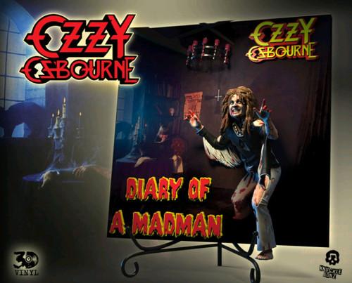 Ozzy Osbourne - Diary of a Madman 3D Vinyl Statue-KNUVOZDIARY100-KNUCKLEBONZ