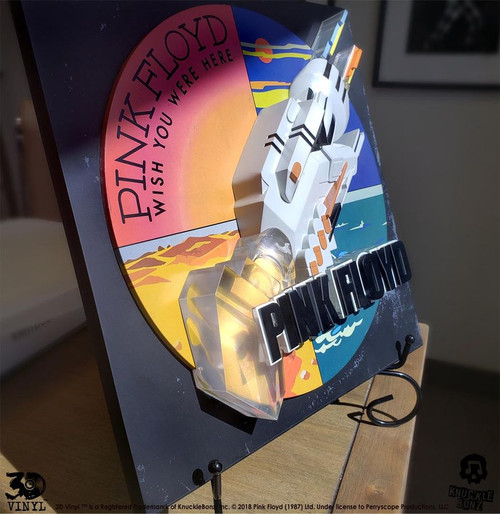 Pink Floyd - Wish You Were Here 3D Vinyl-KNU3DVPINKFL100-KNUCKLEBONZ