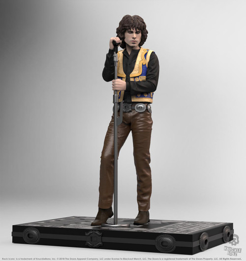 The Doors - Jim Morrison Rock Iconz Statue-KNUJMDOORS100-KNUCKLEBONZ