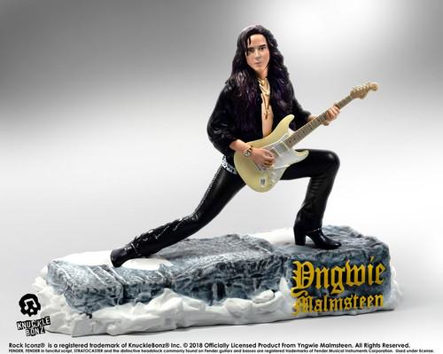 Yngwie Malmsteen - Rock Iconz Statue-KNUYNGWIE100-KNUCKLEBONZ