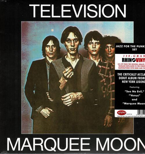 TELEVISION-MARQUEE MOON (180 gram) Vinyl LP-Brand New-Still Sealed