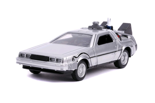 Back to the Future 2 - Delorean 1:32 Scale Hollywood Ride-JAD30541-JADA TOYS