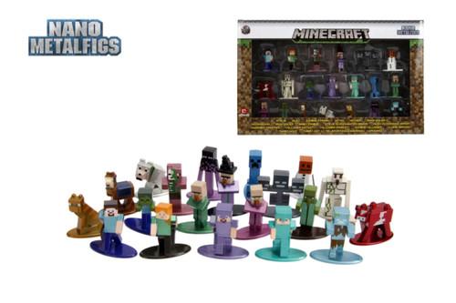 Minecraft - Nano Metalfigs 20-pack wave 02-JAD30770-JADA TOYS