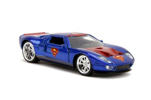 Superman - Ford GT 2005 1:32 Scale Hollywood Ride-JAD31717-JADA TOYS