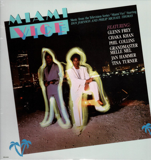 MIAMI VICE-Original T.V. Soundtrack Vinyl LP-Brand New-Still Sealed