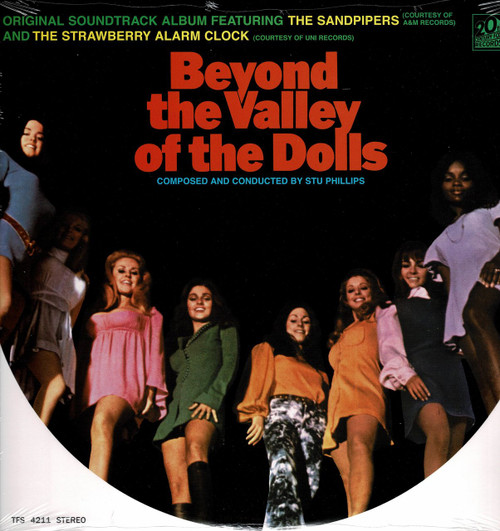 BEYOND THE VALLEY OF THE DOLLS-Original Soundtrack Vinyl LP-Brand New-Still Sealed
