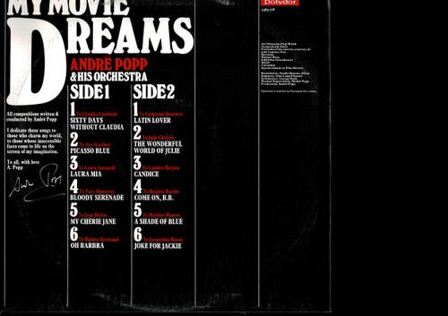 Andre Popp-My Movie Dreams-VINYL LP-USED-Aussie press