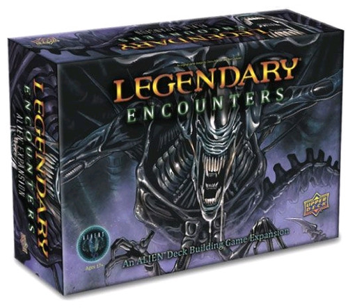 Legendary Encounters - An Alien Deck-Building Game Expansion-UPP86117