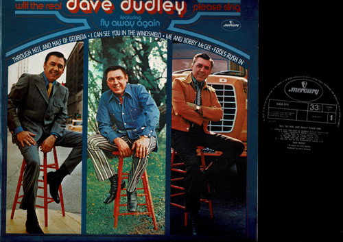 Dave Dudley-Will The Real Dave Dudley Please Sing-VINYL LP-USED-Aussie press