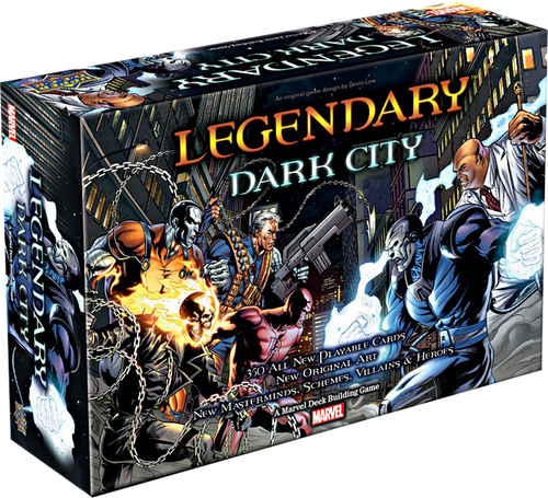 Marvel Legendary - Deck-Building Game Dark City Expansion-UPP80950